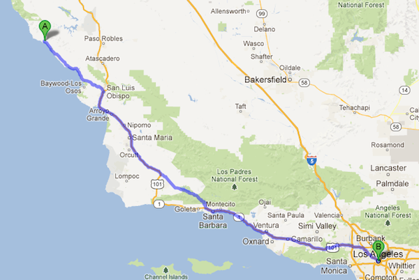 map from Google Maps