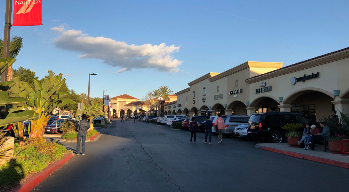 Los Angeles outlets compras